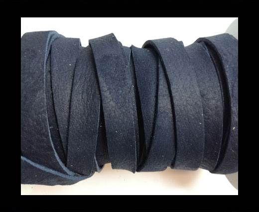 Nubuck Flat - 10mm - NAVY BLUE
