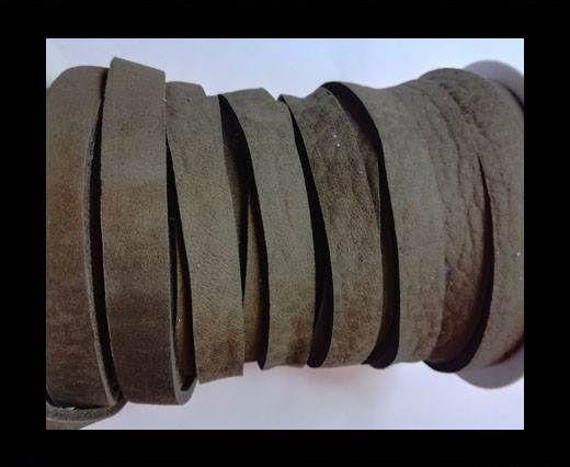 Nubuck Flat - 3mm - MEDIUM BROWN