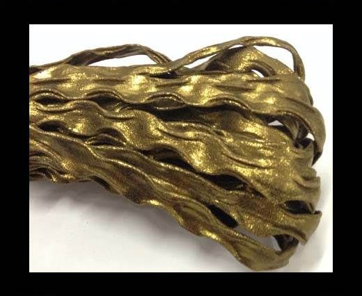 Real Nappa Leather -12mm-Wave Style-Bronze