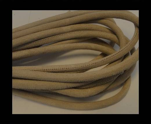 Real Nappa Suede Round-Natura-4mm