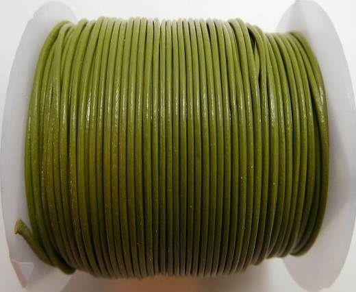 Round Leather Cord -1mm- SE PISTACHIO