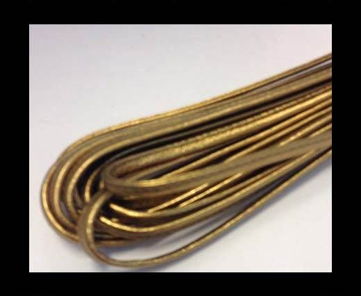 RNL- 5mm-Stitched-Plain Style - Gold
