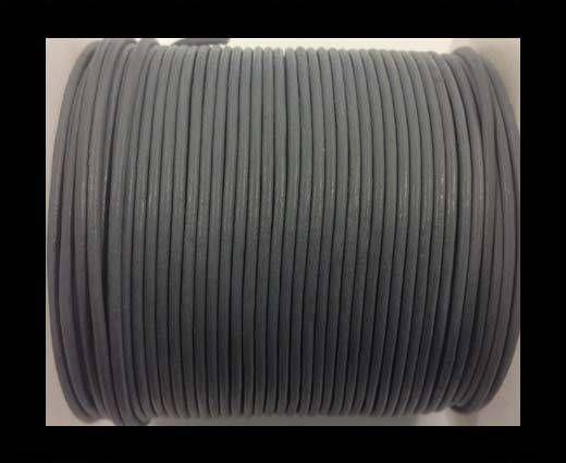Cordón de Cuero - Gris Claro - 1.5mm