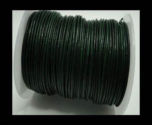 Round Leather Cord -1mm- Se Mehandi