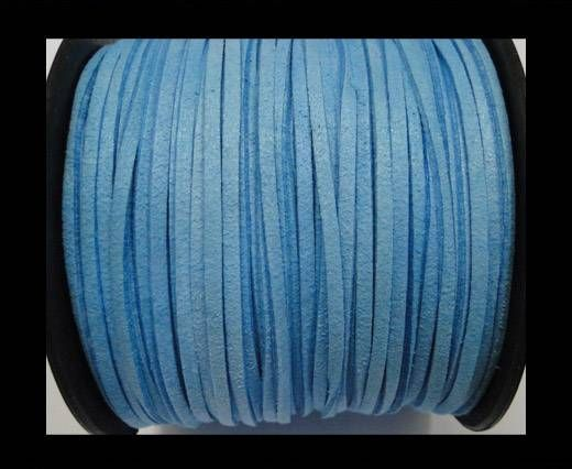 Suede cord - 3mm - Turquoise