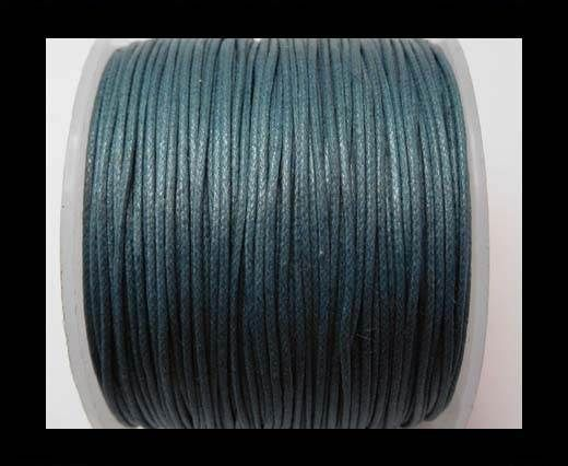 Wax Cotton Cords - 0,5mm - Ink Blue