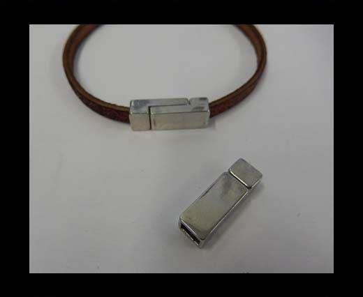 ZAML-62-6*3mm-Steel Silver