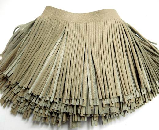 Fringes-8cms-Dark beige