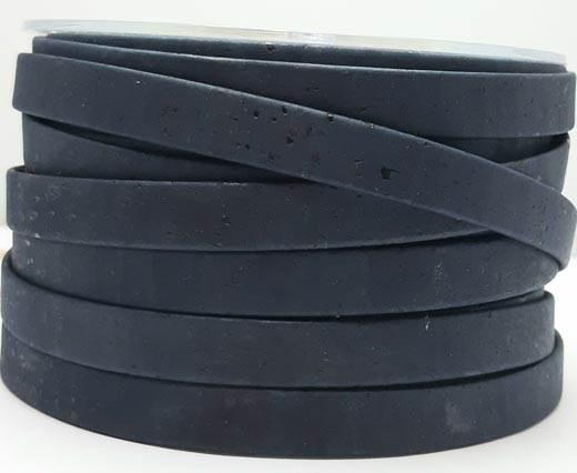 Cork Flat-10mm-Dark blue