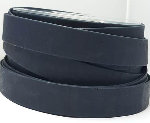 Cork Flat-20mm-Dark blue