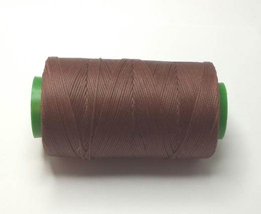 0.8mm-Nylon-Waxed-Thread-Dark Brown 9056