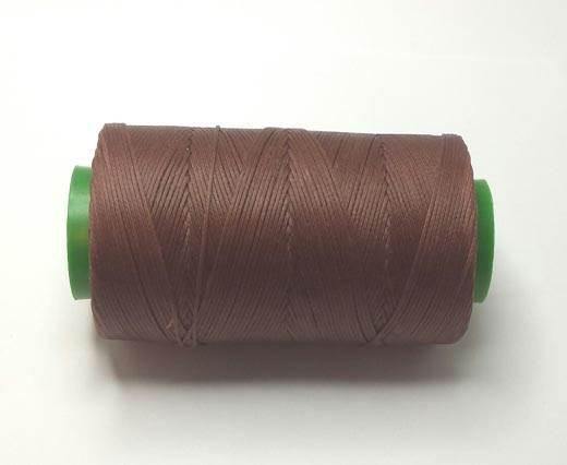 0.8mm-Nylon-Waxed-Thread-Dark Brown 9056