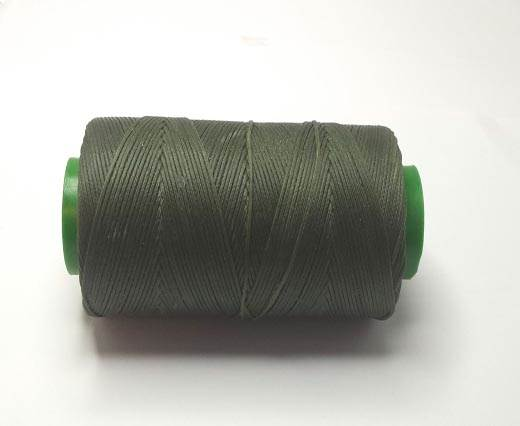 0.8mm-Nylon-Waxed-Thread-Dark Green 9117