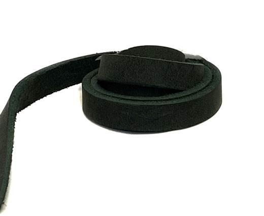 Pull-up Leather-Vetleder-Fettleder-DARK GREEN-10mm