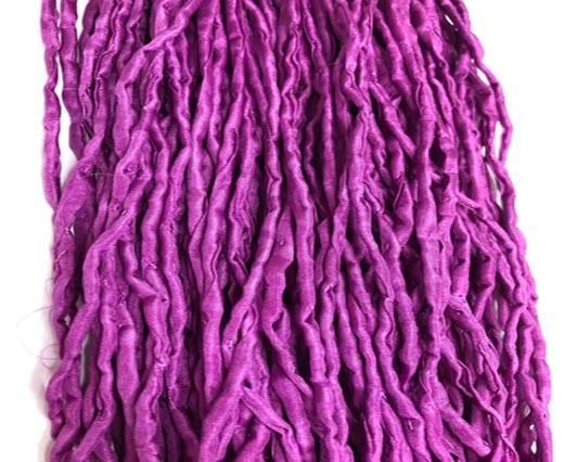 SILK CORDS-2MM-ROUND-Dark Purple