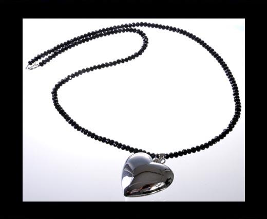Buy DC-GS-Black-Quartz-Long Necklace at wholesale prices
