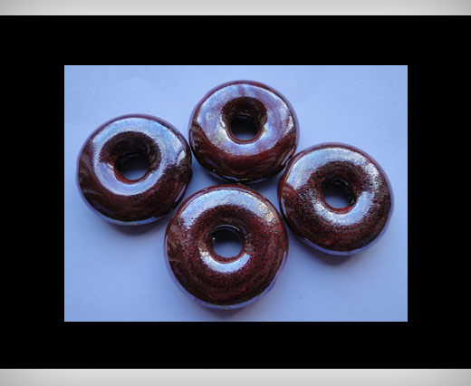 Buy Donut-27mm-Maroon at wholesale prices