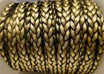 synthetic nappa leather style 1-8mm-Gold