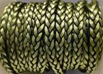 synthetic nappa leather style 1-8mm-Green