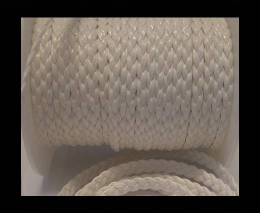 Buy synthetic nappa leather 5mm-White at wholesale prices