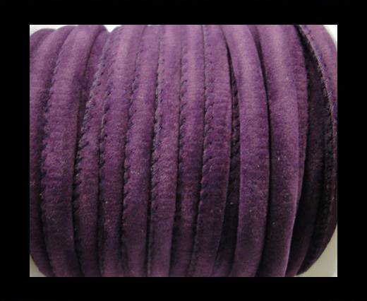 Buy Synthetic nappa leather 6mm-Fabric Style- purple at wholesale prices