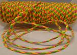 synthetic nappa leather 3mm - Mix Neon