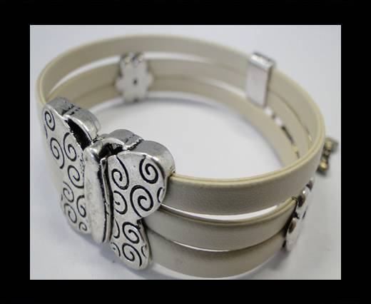 Leather Bracelets Supplies Example-BRL158