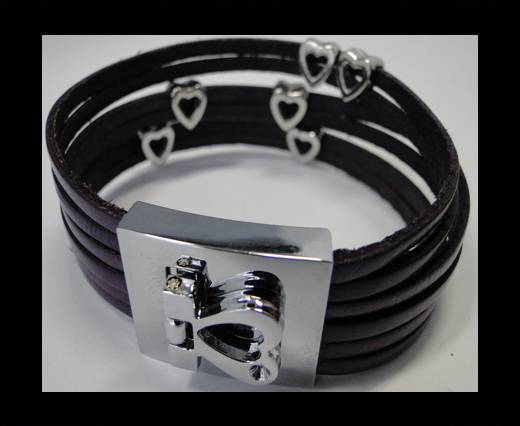Leather Bracelets Supplies Example-BRL160