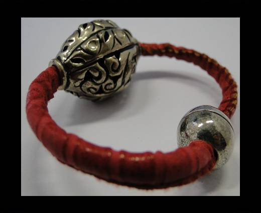 Leather Bracelets Supplies Example-BRL176