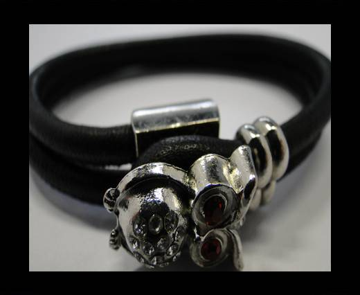Leather Bracelets Supplies Example-BRL195