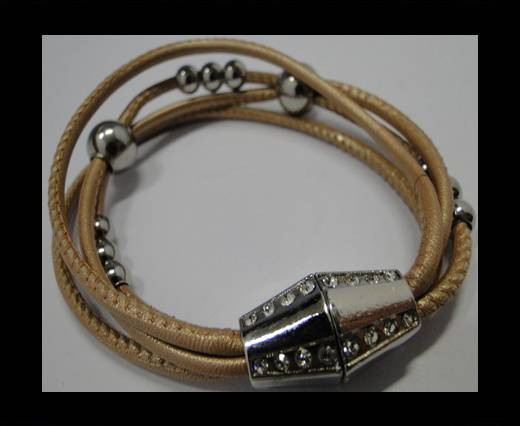 Leather Bracelets Supplies Example-BRL196