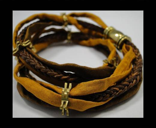 Leather Bracelets Supplies Example-BRL217