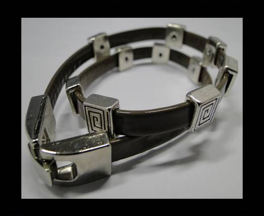 Leather Bracelets Supplies Example-BRL227