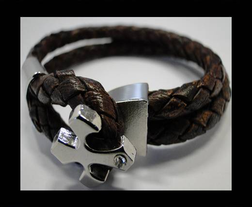 Leather Bracelets Supplies Example-BRL230