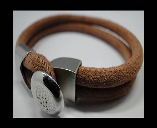 Leather Bracelets Supplies Example-BRL233