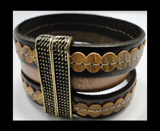 Leather Bracelets Supplies Example-BRL237
