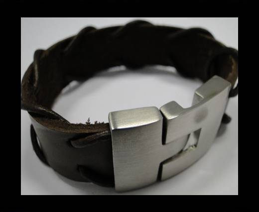 Leather Bracelets Supplies Example-BRL240