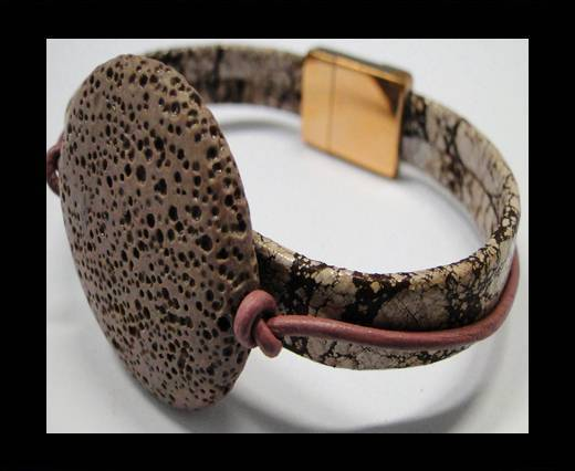 Leather Bracelets Supplies Example-BRL241