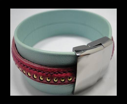 Leather Bracelets Supplies Example-BRL243