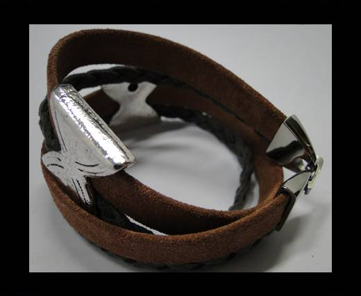 Leather Bracelets Supplies Example-BRL244
