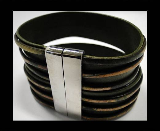 Leather Bracelets Supplies Example-BRL245