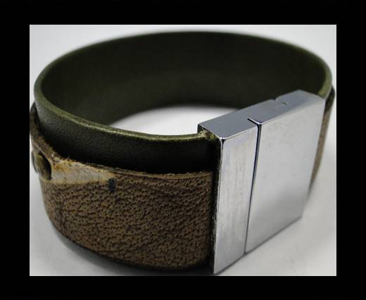 Leather Bracelets Supplies Example-BRL247