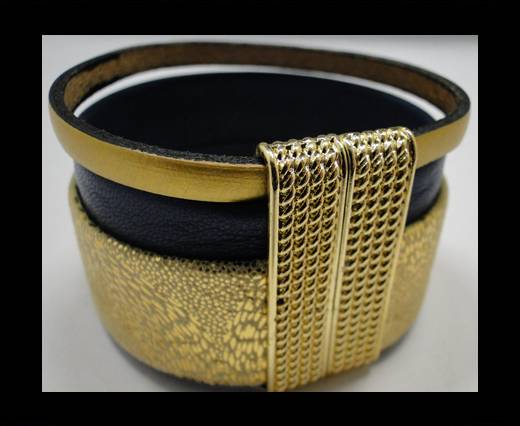 Leather Bracelets Supplies Example-BRL248