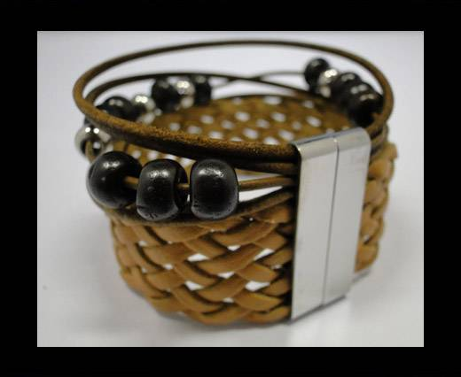 Leather Bracelets Supplies Example-BRL24