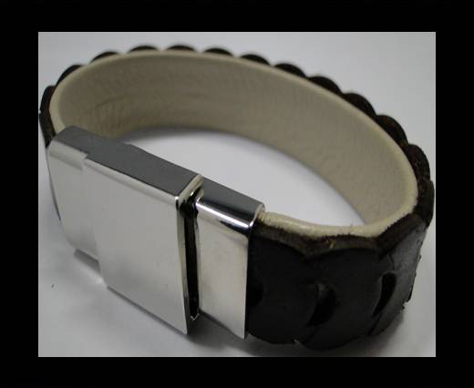 Leather Bracelets Supplies Example-BRL252