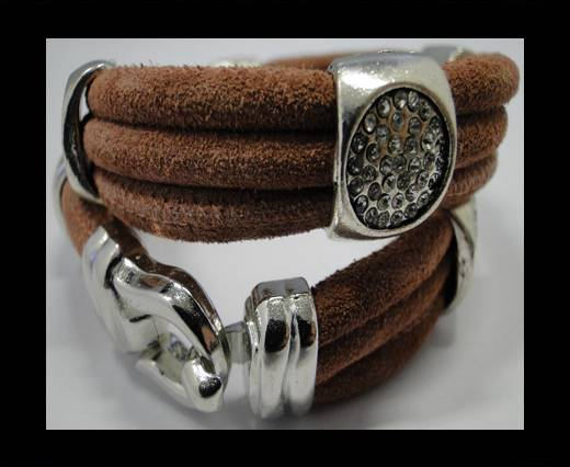 Leather Bracelets Supplies Example-BRL254