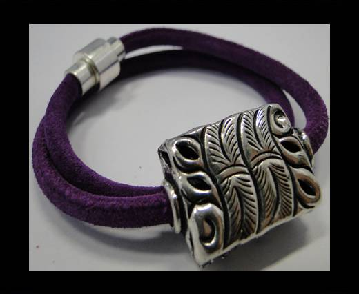 Leather Bracelets Supplies Example-BRL257