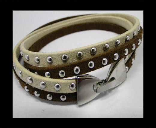 Leather Bracelets Supplies Example-BRL25