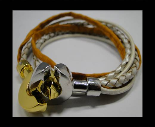 Leather Bracelets Supplies Example-BRL268