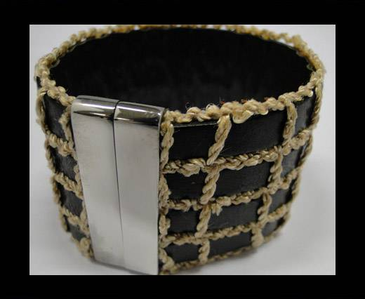 Leather Bracelets Supplies Example-BRL26